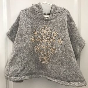 Genuine Kids Sweater Poncho